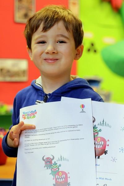 """It's fantastic to see so many children receiving certificates from <a href=""""https://www.teachyourmonstertoread.com/"""" rel=""""nofollow"""">Teach Your Monster to Read</a> - a big well done to those who have been participating and keep them coming!"""